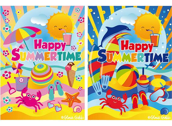 Happy Summer Time Gloria Giobbi